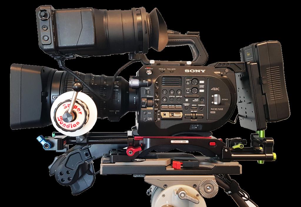 Sony FS7 mark2 videocamera